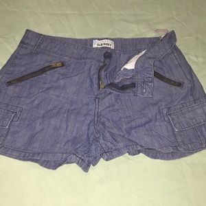 Girls old navy shorts size 14 reg